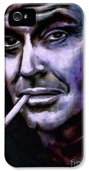 Jack Nicholson IPhone 5 / 5s Case by Andrzej Szczerski