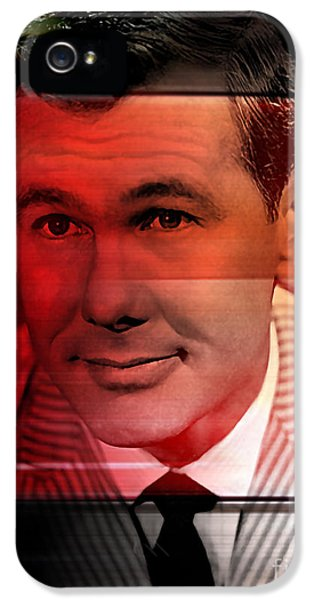 Johnny Carson IPhone 5 / 5s Case by Marvin Blaine