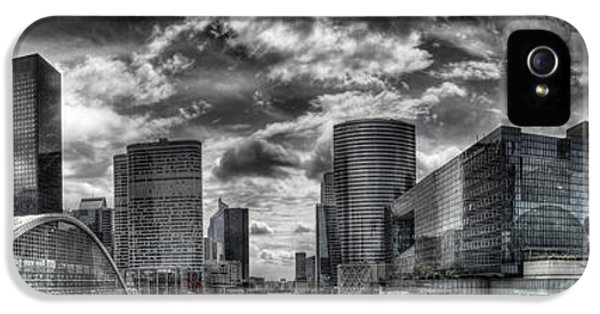 Build iPhone 5 Cases - La Defense PARIS iPhone 5 Case by Melanie Viola