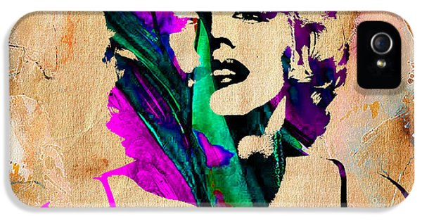 Marilyn Monroe Painting IPhone 5 / 5s Case by Marvin Blaine