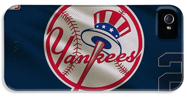 New York Yankees Derek Jeter IPhone 5 / 5s Case by Joe Hamilton