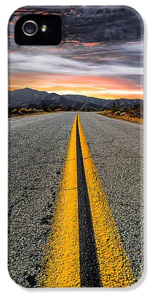 Road iPhone 5 Cases - On Our Way  iPhone 5 Case by Ryan Weddle