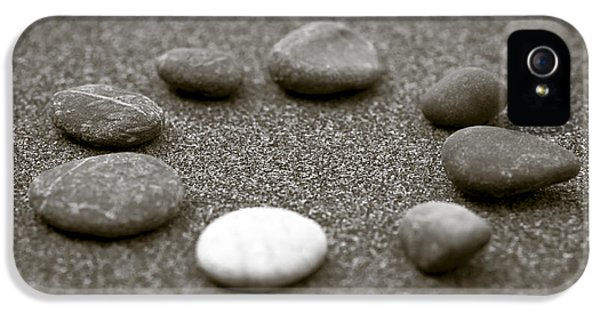 Element iPhone 5 Cases - Pebbles iPhone 5 Case by Frank Tschakert