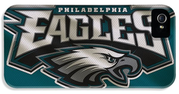 Philadelphia Eagles Uniform IPhone 5 / 5s Case by Joe Hamilton