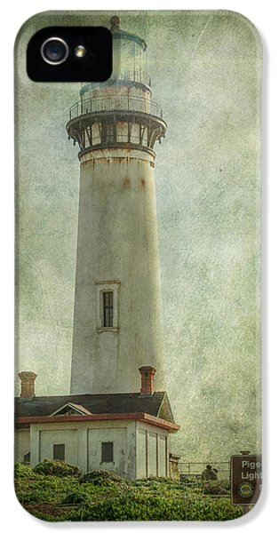 Automation iPhone 5 Cases - Pigeon Point Light Station iPhone 5 Case by Erik Brede