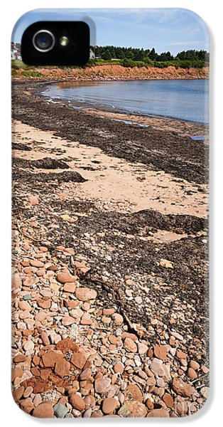 Prince iPhone 5 Cases - Prince Edward Island coastline iPhone 5 Case by Elena Elisseeva