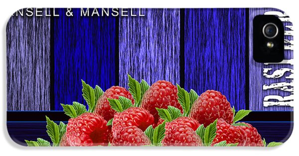 Raspberry Fields IPhone 5 / 5s Case by Marvin Blaine