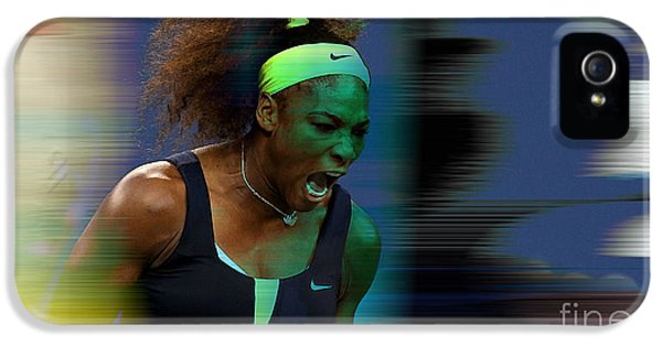 Serena Williams IPhone 5 / 5s Case by Marvin Blaine