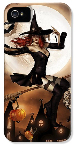 Witch iPhone 5 Cases - Smashing Pumpkins iPhone 5 Case by Shanina Conway