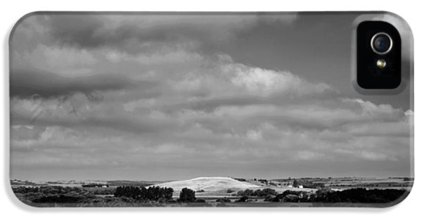 The White House Photographs iPhone 5 Cases - Summer Prairie Landscape BW iPhone 5 Case by Donald  Erickson