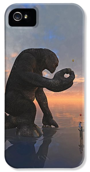 Monster iPhone 5 Cases - The Gift iPhone 5 Case by Cynthia Decker