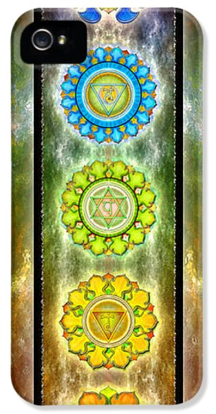 Holy Spirit iPhone 5 Cases - The Seven Chakras Series 2012 iPhone 5 Case by Dirk Czarnota
