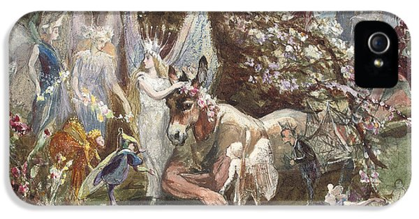Titania And Bottom IPhone 5 / 5s Case by John Anster Fitzgerald