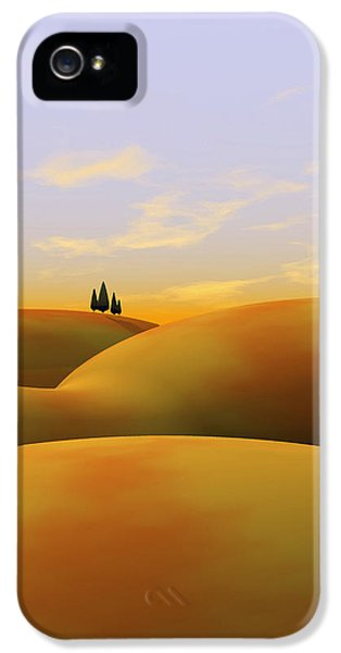 Landscape iPhone 5 Cases - Toscana 3 iPhone 5 Case by Cynthia Decker
