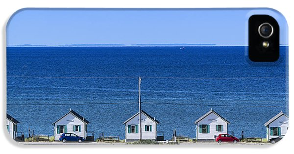 Shanty iPhone 5 Cases - Truro Cottages iPhone 5 Case by John Greim