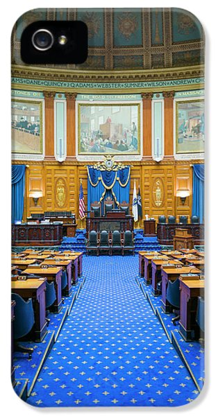Usa, Massachusetts, Boston IPhone 5 / 5s Case by Walter Bibikow