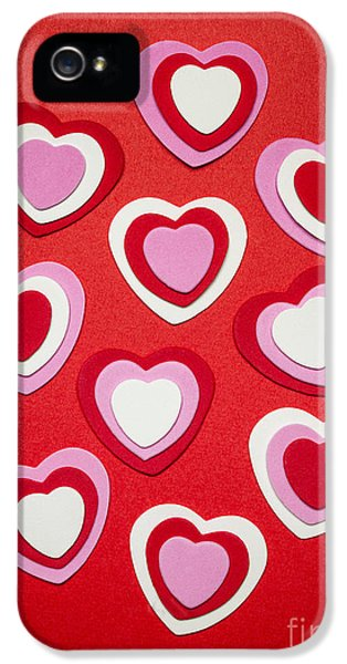 Valentines Day Hearts IPhone 5 / 5s Case by Elena Elisseeva