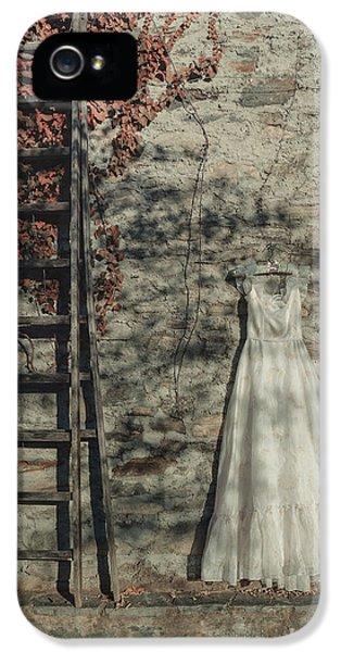 Ladder iPhone 5 Cases - Wedding Dress iPhone 5 Case by Joana Kruse