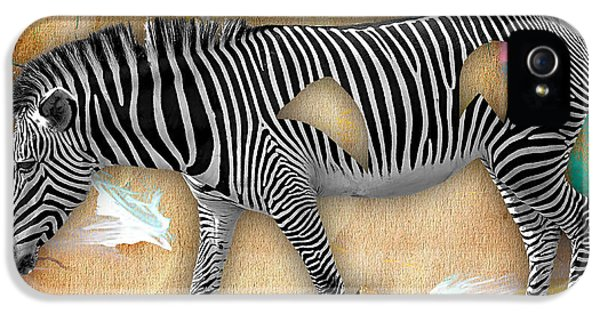 Zebra Collection IPhone 5 / 5s Case by Marvin Blaine