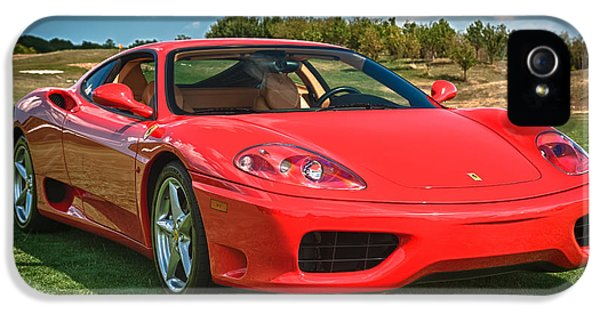2001 Ferrari 360 Modena IPhone 5 / 5s Case by Sebastian Musial