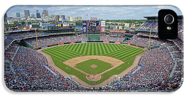 Ballpark iPhone 5 Cases - 2013 Turner Field iPhone 5 Case by Mark Whitt