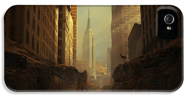 State Bird iPhone 5 Cases - 2146 iPhone 5 Case by Michal Karcz