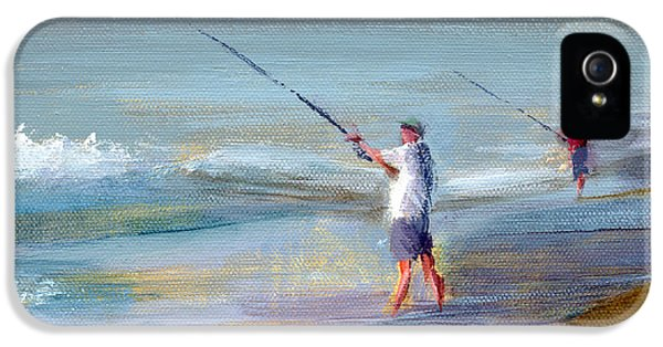 Fishing iPhone 5 Cases - RCNpaintings.com iPhone 5 Case by Chris N Rohrbach