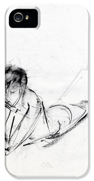 Pencil Drawing iPhone 5 Cases - RCNpaintings.com iPhone 5 Case by Chris N Rohrbach