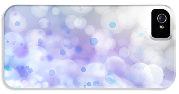 Soft iPhone 5 Cases - Abstract background iPhone 5 Case by Les Cunliffe