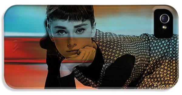 Audrey Hepburn Art IPhone 5 / 5s Case by Marvin Blaine