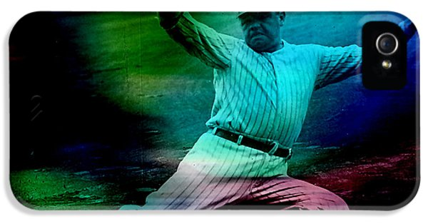 Babe Ruth IPhone 5 / 5s Case by Marvin Blaine