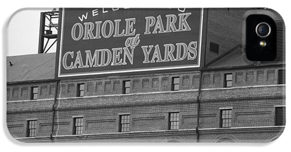 Ballpark iPhone 5 Cases - Baltimore Orioles Park at Camden Yards iPhone 5 Case by Frank Romeo
