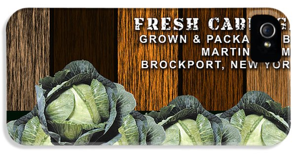 Cabbage Farm IPhone 5 / 5s Case by Marvin Blaine