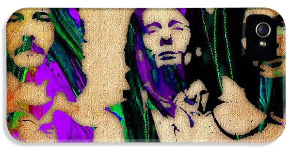 Cream Eric Clapton Jack Bruce Ginger Baker IPhone 5 / 5s Case by Marvin Blaine