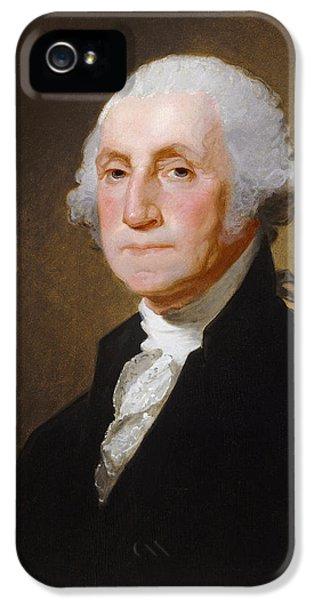 George Washington IPhone 5 / 5s Case by Gilbert Stuart