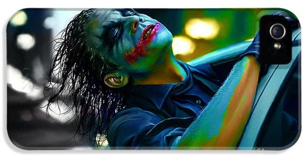 Heath Ledger IPhone 5 / 5s Case by Marvin Blaine