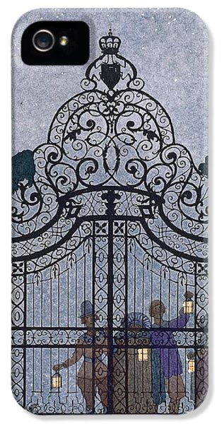 Illustration For 'fetes Galantes'  IPhone 5 / 5s Case by Georges Barbier
