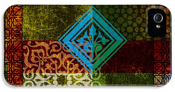 Arabic iPhone 5 Cases - Islamic Motives iPhone 5 Case by Corporate Art Task Force