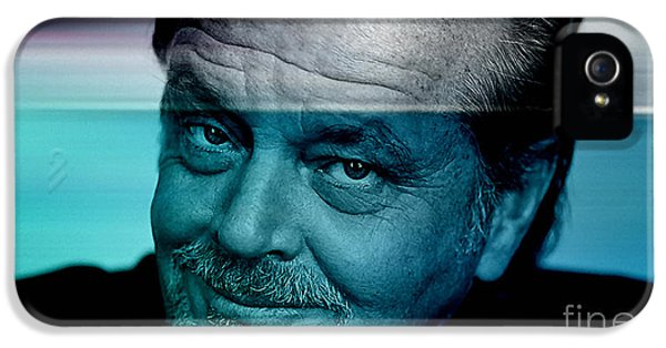 Jack Nicholson IPhone 5 / 5s Case by Marvin Blaine