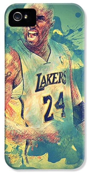 Kobe Bryant IPhone 5 / 5s Case by Taylan Soyturk