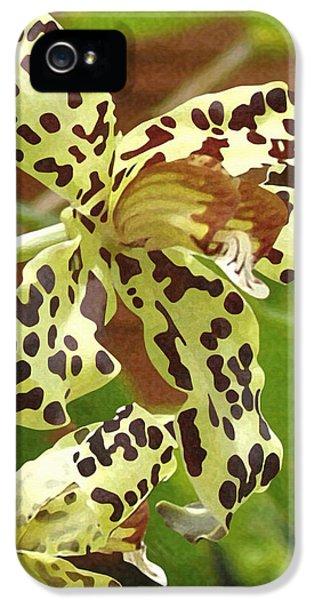 Leopard Orchids IPhone 5 / 5s Case by Ellen Henneke