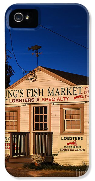 Shanty iPhone 5 Cases - Lobster Shack iPhone 5 Case by John Greim