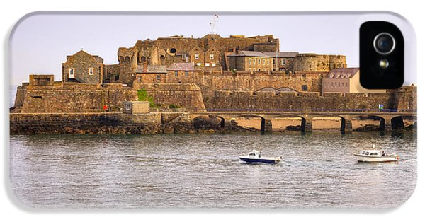 Castle iPhone 5 Cases - St Peter Port - Guernsey iPhone 5 Case by Joana Kruse