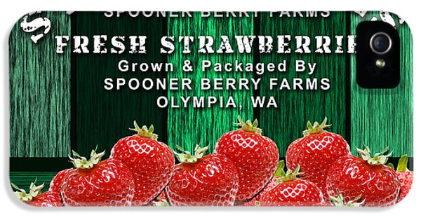 Strawberry Farm IPhone 5 / 5s Case by Marvin Blaine