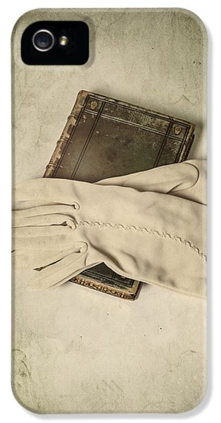 Glove iPhone 5 Cases - Time To Read iPhone 5 Case by Joana Kruse
