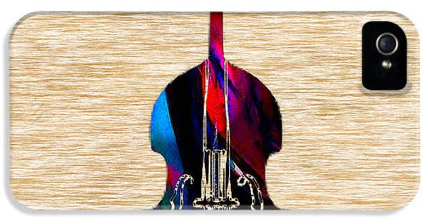 Upright Bass IPhone 5 / 5s Case by Marvin Blaine