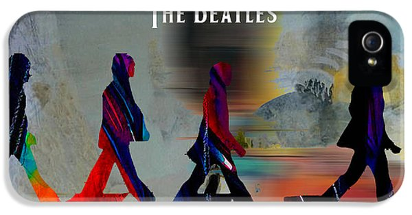 Music iPhone 5 Cases - The Beatles iPhone 5 Case by Marvin Blaine