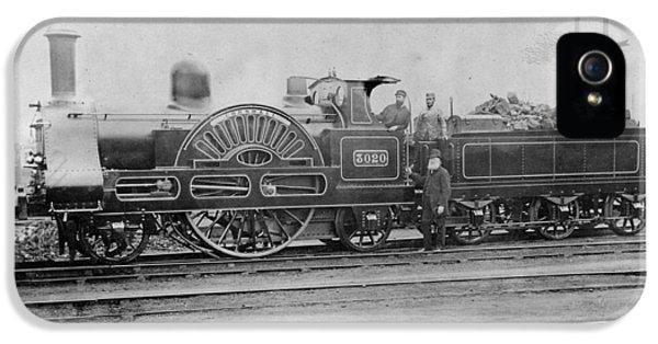 3020 Cornwall Train 1890 IPhone 5 / 5s Case by Georgia Fowler