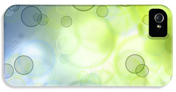 Abstracts iPhone 5 Cases - Abstract background iPhone 5 Case by Les Cunliffe