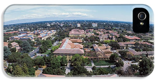 Aerial View Of Stanford University IPhone 5 / 5s Case by Panoramic Images